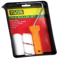 "Fit For The Job FRKT003 Mini Roller Kit Complete 4"""