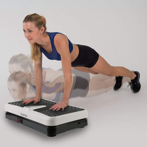 Fitness vibrating plates with Remote control RC-CFM-T12 size 55 * 32 * 12.5cm