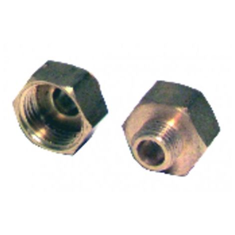 Fitting of reduction f3/8 x m1/4 (X 2)