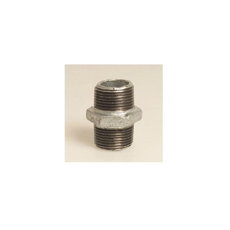 Rohr Winkel Verschraubung 1//2 Zoll IG//AG DN15 Temperguss Fitting verzinkt