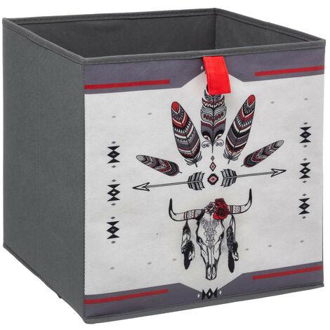 Five - Boîte de Rangement 31 x 31 x 31 cm collection Buffalo