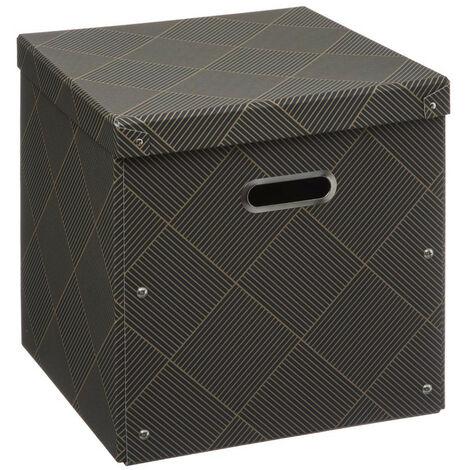 Five - Boîte de rangement pliable décorée 31x15