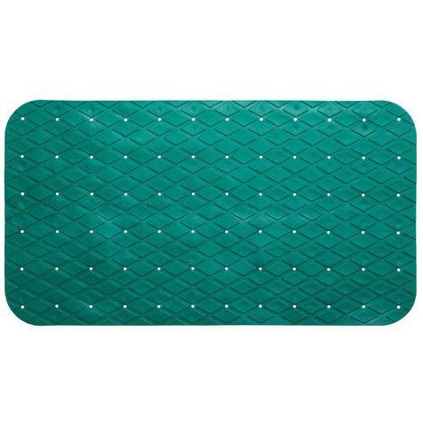 Five - Fond de bain en pvc 69 x 39 cm vert émeraude