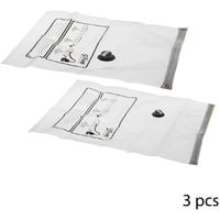 Five - Lot de 3 sacs compresseur d'air de voyage
