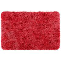 Five - Tapis de bain microfibre rouge 60X90