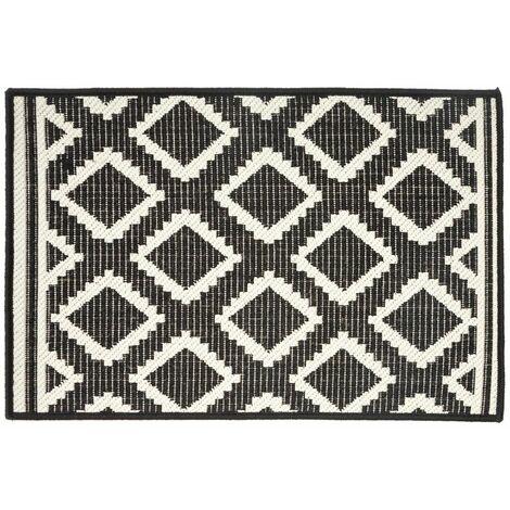Five - Tapis décor losanges 50 x 80 cm