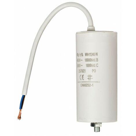 Tab 18UF Condensateur 450/VAC