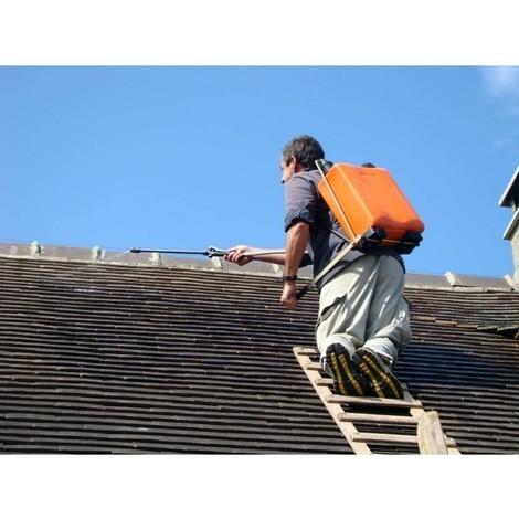 Fixateur ciment étanchéité élastique protection toiture