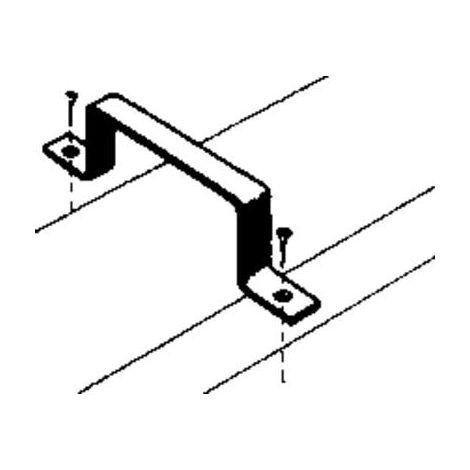 Fixation conduit plat (2 unités)