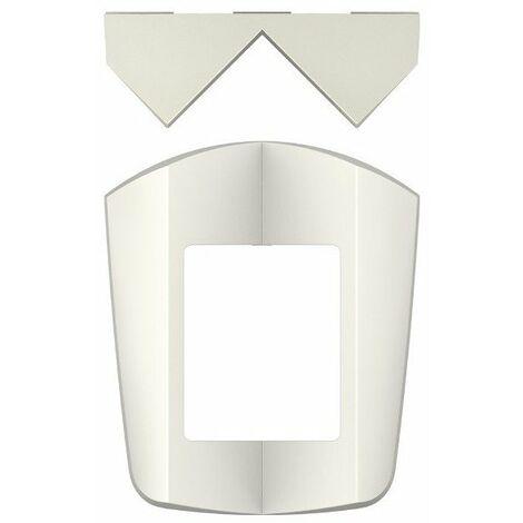 Fixation d'angle pour détecteur de mouvement theLuxa S WH - Blanc