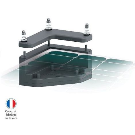 Fixation de panneau solaire pour camping-car UNIFIX 1.C