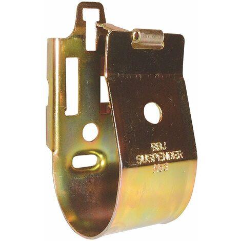 """Fixation pour liaisons frigorifiques et canalisations - BBJ Suspenders - 2 tailles - 3/8"""" - 5/8"""" 10 pièces"""