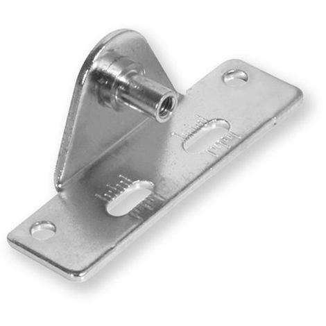 Fixation pour portes très lourdes en bois et aluminium - talla