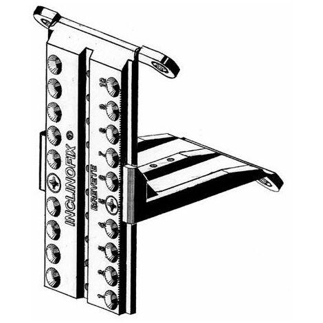 Fixation sous pente pour placard inclinofix - Décor : Blanc - ITAR