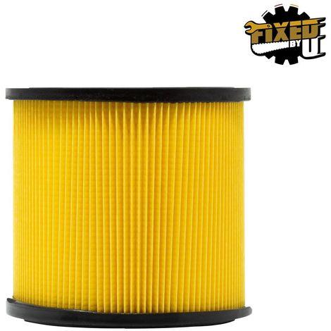 FixedByU Lamellenfilter, Ersatzfilter, passend für LIDL PARKSIDE Nass-Trockensauger PNTS 1500 A1 B1 B2