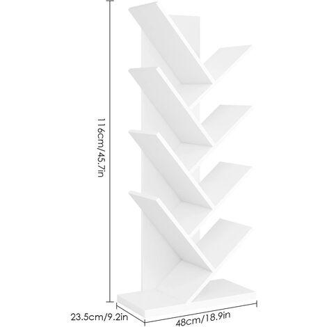 FIXKIT Meuble de Rangement Jouets Etagère de Jouets de 3 Etages pour Jouets Chambre d'enfant FIXKIT
