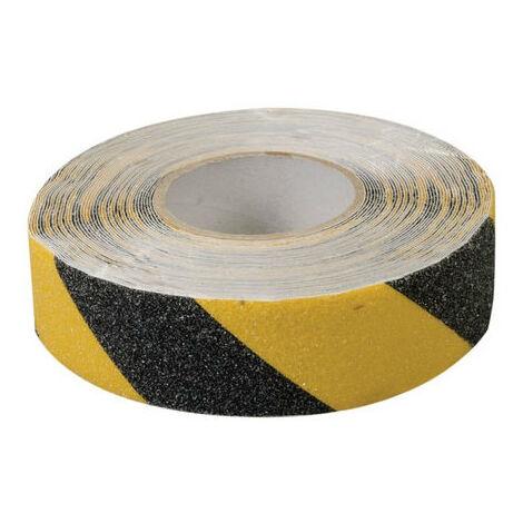 Fixman 190583 Anti-Slip Tape 50mm x 18m Black/Yellow