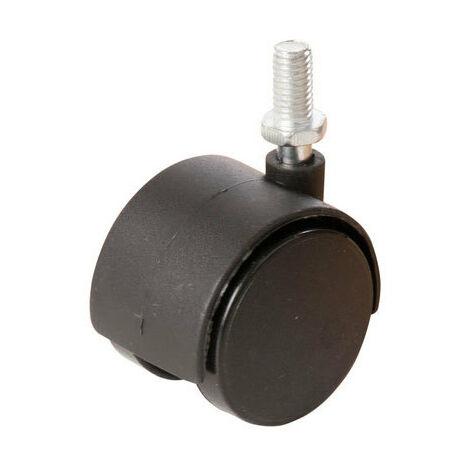 Fixman 275361 Twin Wheel Castor 4pk 40mm bolt
