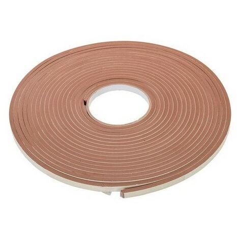 Fixman 388856 Self-Adhesive EVA Foam Gap Seal 3-8mm / 10.5m Brown