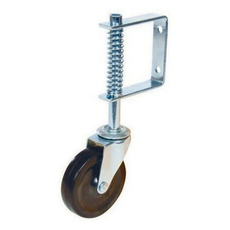 Fixman 455654 Gate Castor Swivel Spring-Loaded 100mm 57kg