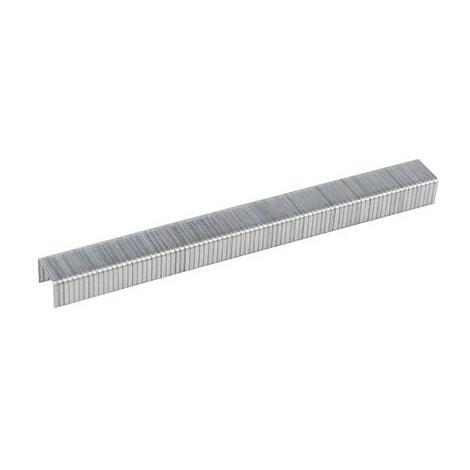 Fixman 516813 Punti metallici tipo 140 5000 p.zi 10,6 x 8 x 1,2 mm