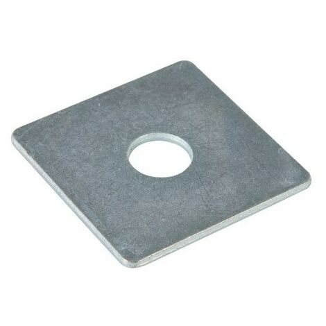 Fixman 542862 Square Plate Washers 50mm x M12 Pack of 10