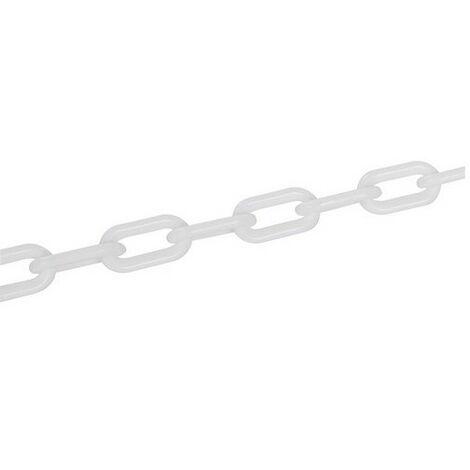 Fixman 568185 Plastic Chain White 6mm x 5m