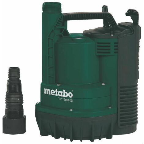 Flachsaugende Tauchpumpe TP 12000 SI / 600 Watt