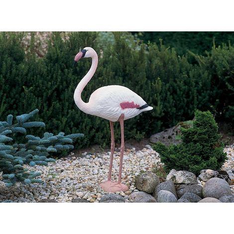 0fb15c886b5d4 Flamant rose décoratif de bassin à poser - 1382503