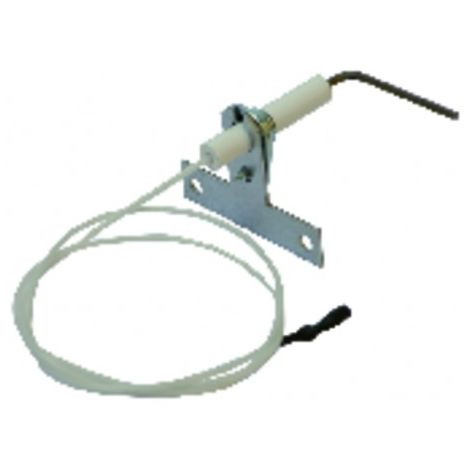 Flame sensing electrode (X 5) - DIFF for Chaffoteaux : 60078258
