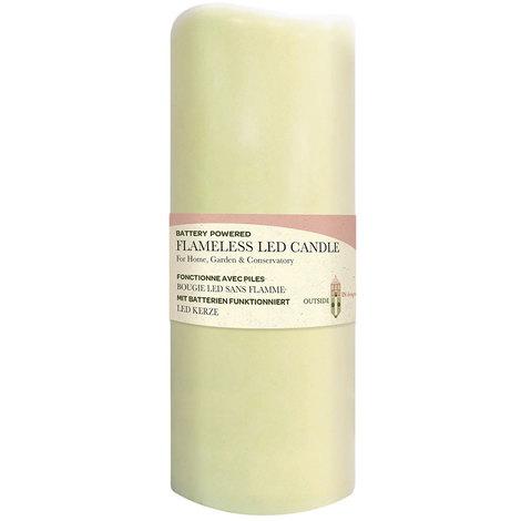 Flameless LED Candle Light 7.5 x 18cm
