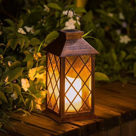 Flameless LED Outdoor Hanging Solar Lantern for Table, Outdoor, Party, etc.