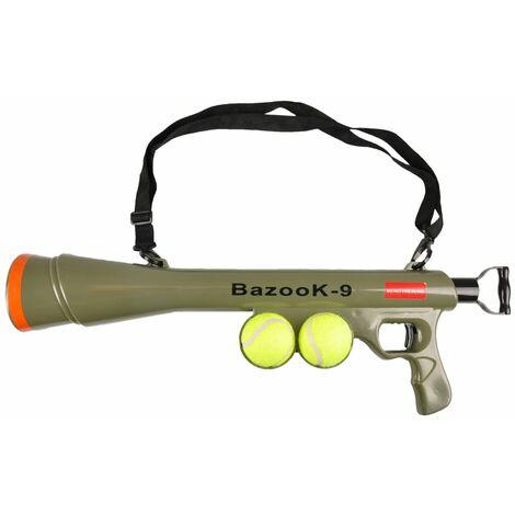 FLAMINGO Ball Shooter BazooK-9 with 2 Tennis Balls 517029