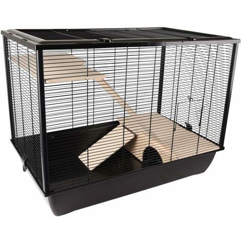 FLAMINGO Cage pour petits animaux Elsa Large 77x47x60 cm