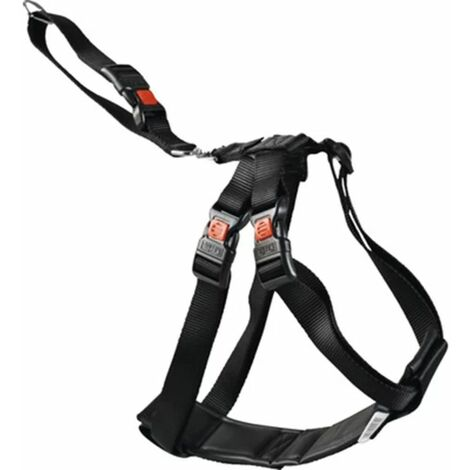 FLAMINGO Car Safety Harness Size L/XL 60-100 cm Black 1032112
