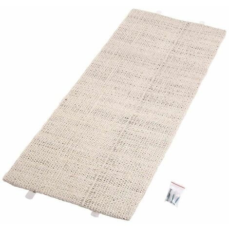 FLAMINGO Cat Scratching Corner Board Sisal Beige 5346817