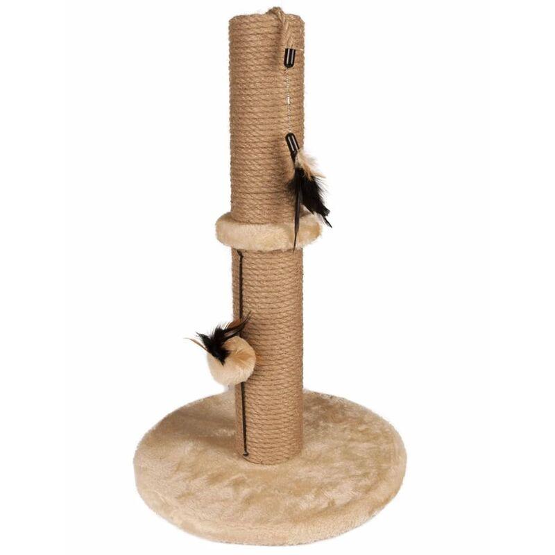 Griffoir pour chats Indian Beige 50 cm 560314 - Flamingo