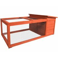 FLAMINGO Rabbit Hutch Atto 120x65x51 cm 210050