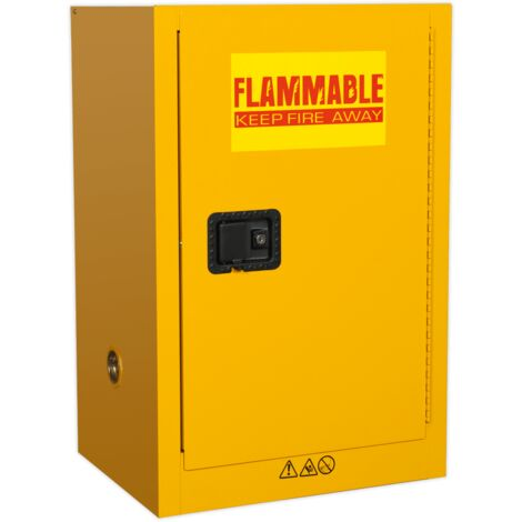 Flammables Storage Cabinet 585 x 455 x 890mm