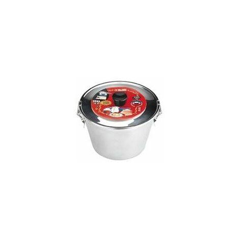 Flanero Respost Liso 18cm C/tapa Inox Ibili