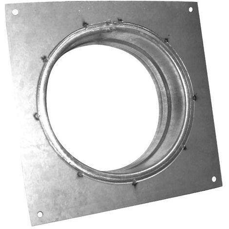 Flange carrée 150mm galva , conduit de ventilation