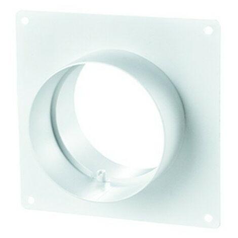 Flange carrée en plastique 125mm - Winflex ventilation