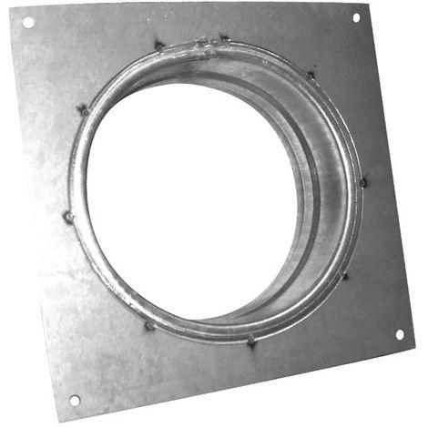 Flange carrée Galva 100 mm - gaine de ventilation