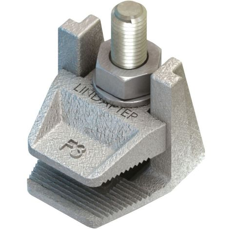 Flange clamp type F3 Malleable iron Hot dip galvanized F3 (without bolt)