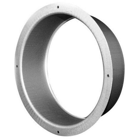 Flange ronde en métal 160mm-conduit de ventilation