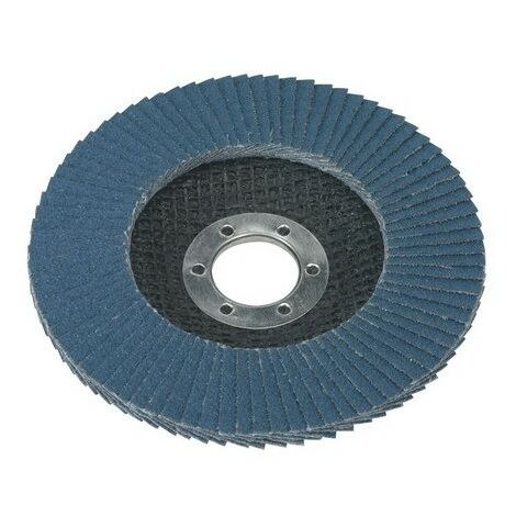 Sealey FD11580 Diameter 115mm Flap Disc Zirconium 22mm Bore 80Grit
