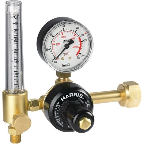 Flaschendruckminderer 801-30FLAR Argon/CO2 200bar 30l/min W 21,8x1/14Zoll RH