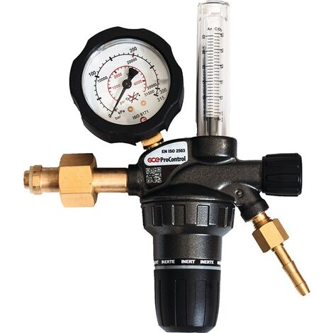 Flaschendruckminderer ProControl Flowmeter Argon/CO? 200bar 1-stufig 30l/min