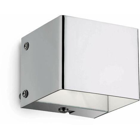 FLASH chrome wall light 1 bulb