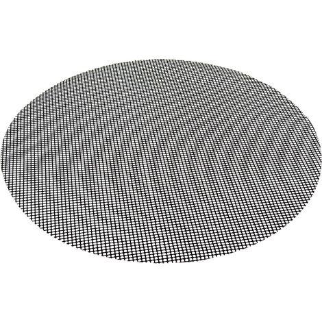 Flash Dauer Grillmatte Grillunterlage Backofenmatte Backmatte Antihaftbeschichtung rund 50 cm